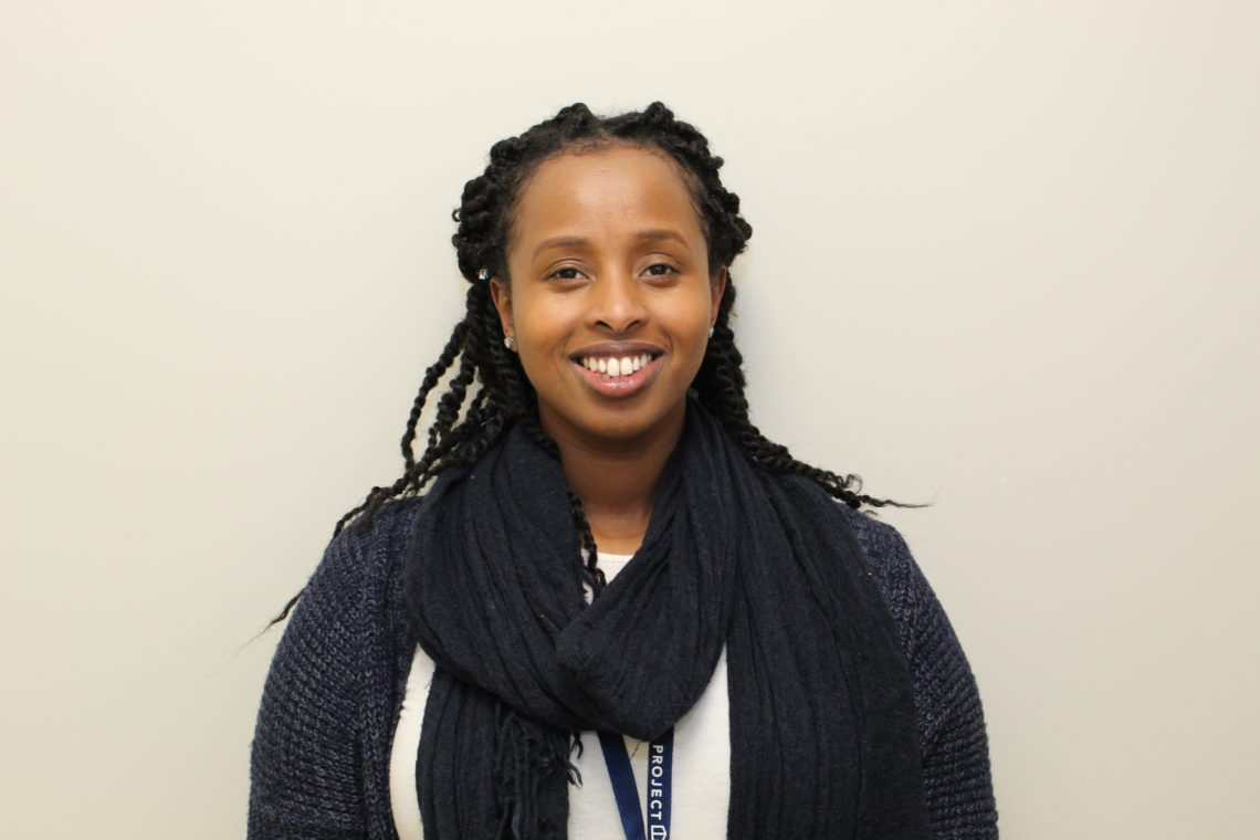 Photo of Mal, Project Place's newest case manager and instructor